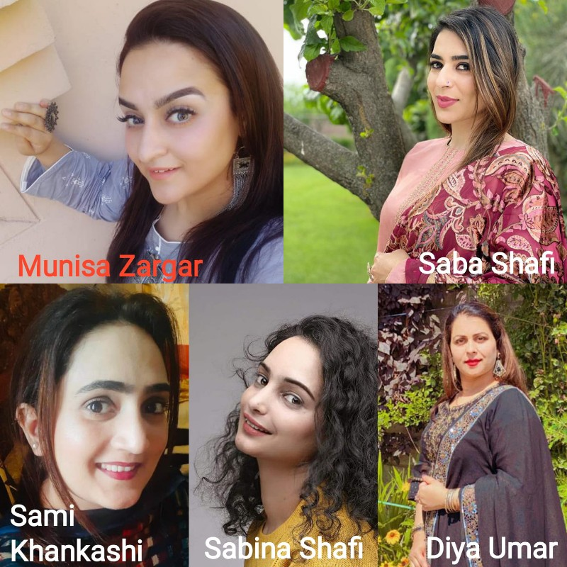 Pride of Kashmir   Meet The Women Make Up Artistes of Kashmir; taking up and excelling in a 'forbidden' career option