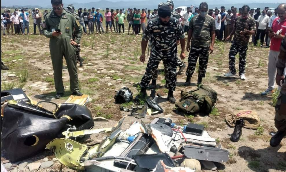 Army Helicopter Crash: Navy Drivers Undertake Searches To Trace Missing Pilots