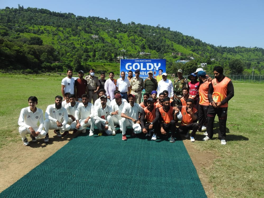 First Goldy Memorial Cricket Tournament: A Joint Venture of Mendhar Gunners and Mendhar Cricket Association