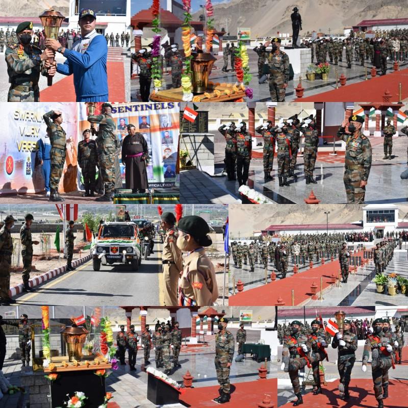 Swarnim Vijay Varsh Celebration at Leh