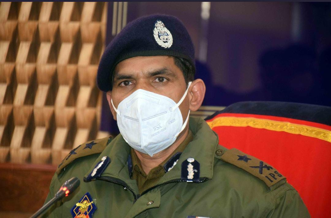 Didn't Take Leave Even For Single Day in Last 20 Months: IGP Kashmir