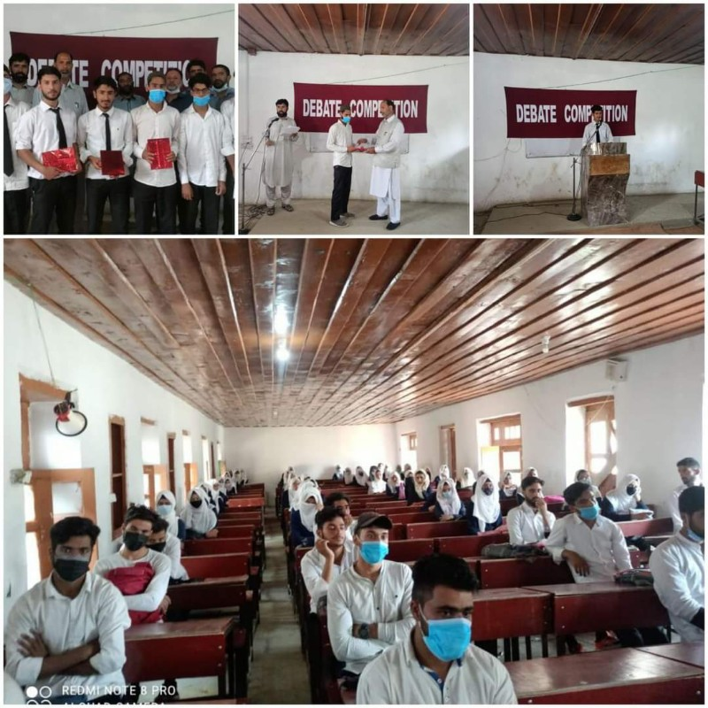 """A""""Debate Competition"""" was organised by Army Camp Kakrosa"""