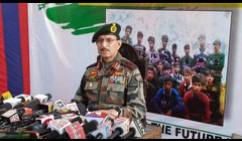 GoC-in-C Yogesh Kumar Joshi said Accept mistake, return to mainstream; will welcome with open arms: Army commander to newly recruited militants