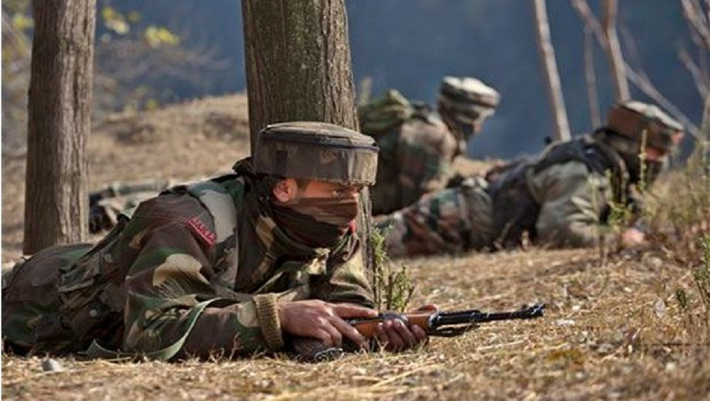One Militant has been killed in a gunfight in Chandaji area of North Kashmir's Bandipora