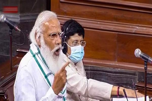 PM Modi lashes out at opposition members for their conduct in Parliament