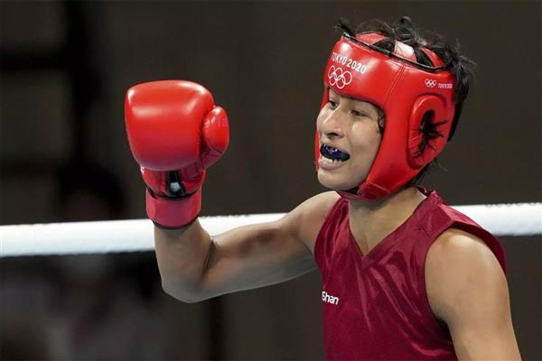 Lovlina ends with bronze medal at Olympics