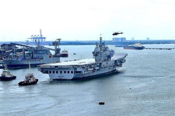 India's first indigenous aircraft carrier begins sea trial