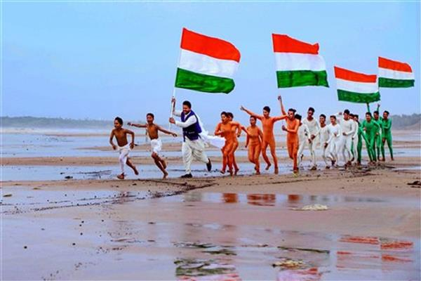 Indian-Americans begin early celebration of India's 75th Independence Day