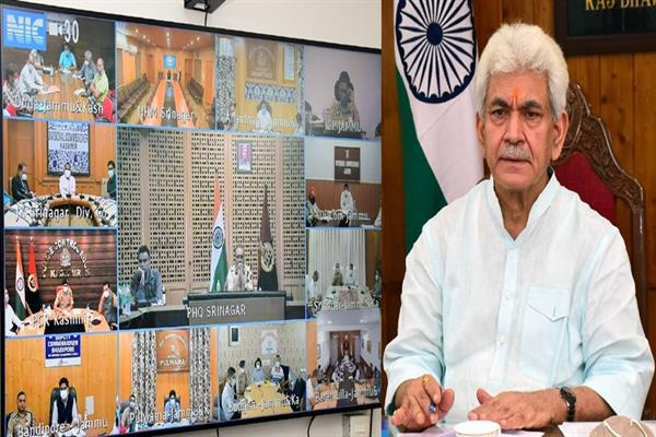Covid threat not over yet: LG Manoj Sinha