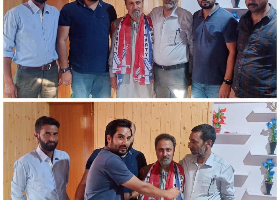 Former Health Official joins Apni Party in Bandipora.