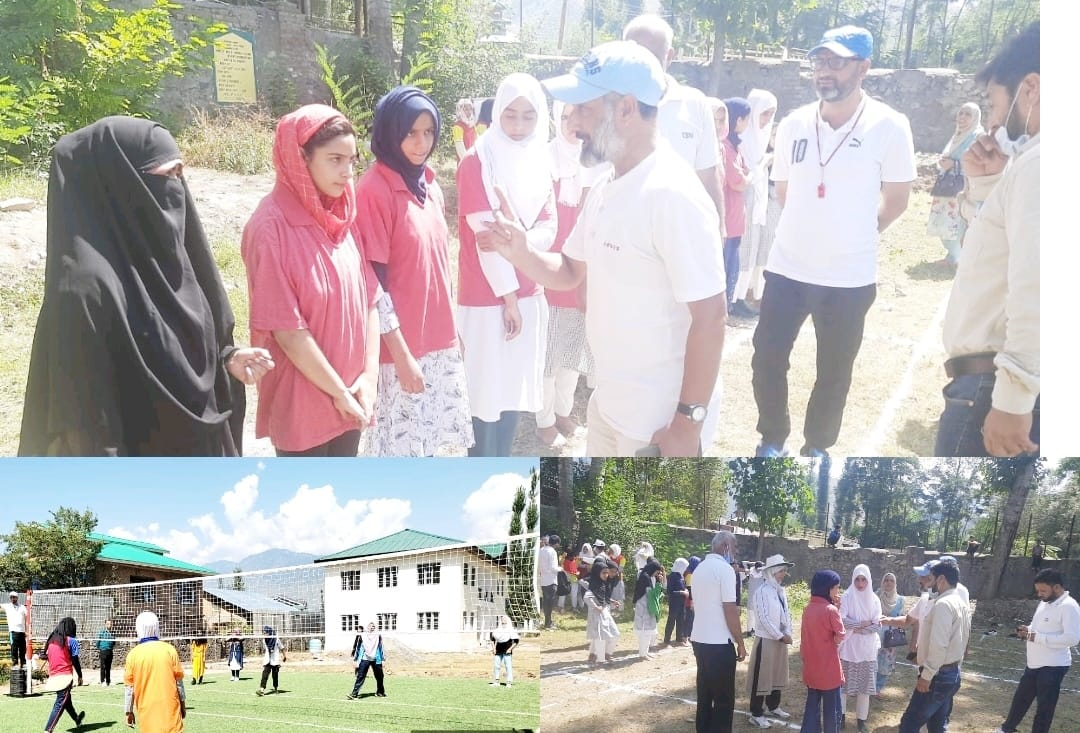 DYSS Bandipora kick started Inter-School Sports Competition
