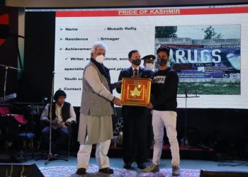 The Pride of Kashmir | Musaib Rafiq A young kid in the deadly Pandemic and a young kid from Kashmir!