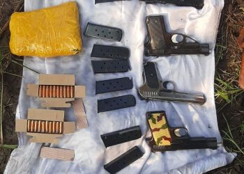 BSF Recovers Arms, Ammunition, Narcotics, Counterfeit Cash along IB in Akhnoor