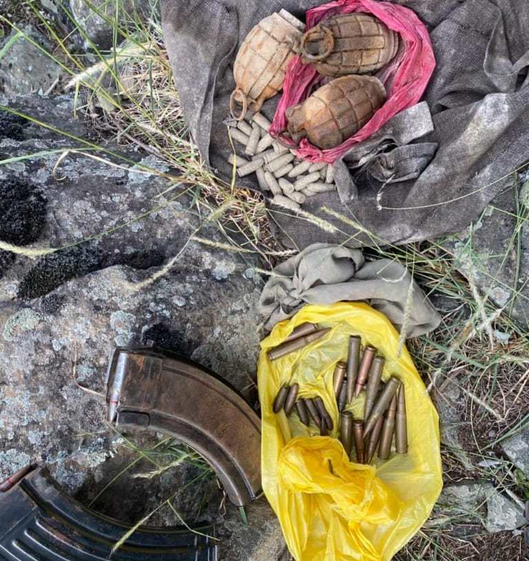 Cache of Ammo recovered during search ops in Ganderbal woods: Officials
