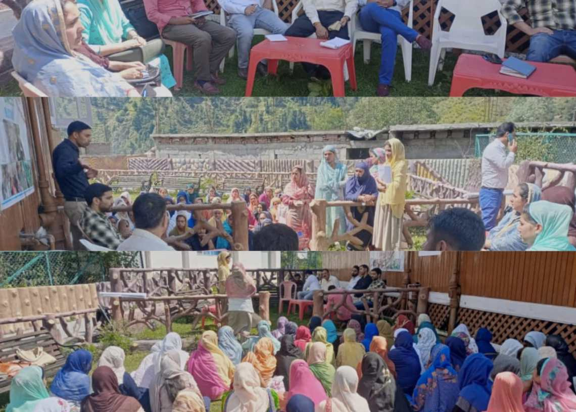 JKNRLM umeed organizes financial literacy camp at Loran