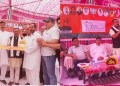 BJP OBC Morcha Organised Public Interaction Program at Jammu and Distributes PMAY-Urban Houses Keys Among its Beneficiaries .