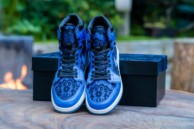 Lisa Ann Blue Sneakers For Print-3