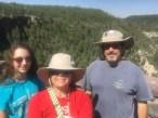 Gillian, Melisa, David in Sedona