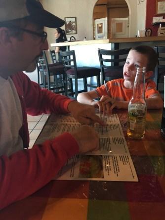 David & Adam deep in conversation