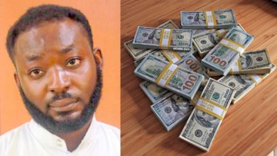 Photo of Nigerian 'Yahoo boy' surrenders after FBI declared him wanted