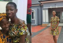 Photo of Emmanuella: Kid comedian surprises mum with 'portable house', promises her mansion in 2021
