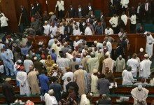 Photo of Fight breaks out in parliament over Nigeria's oil money