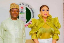 Photo of Tonto Dikeh unveiled as Christian pilgrimage ambassador