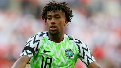 Photo of AFCON Qualifier: CAF clears Super Eagles' Alex Iwobi to play Nigeria vs Lesotho