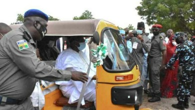 Photo of Bauchi protest: Keke drivers block emir's palace over 'extortion, oppression'