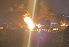 Photo of 'Houses burning' in Benue as another fuel tanker explodes