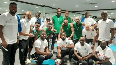 Photo of AFCON Qualifiers: Training begins as 19 Super Eagles arrive Nigeria camp