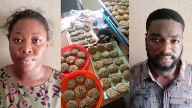Photo of Rhoda Agboje: Abuja babe, boyfriend arrested for 'selling cannabis cookies to schoolchildren'