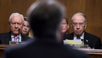 Rancorous Senate Cmte Pushes Kavanaugh Nomination, FBI Will Investigate Accusations