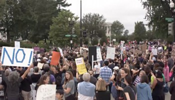 """Hundreds Rally to """"Cancel Kavanaugh"""" Hours Before His Confirmation"""
