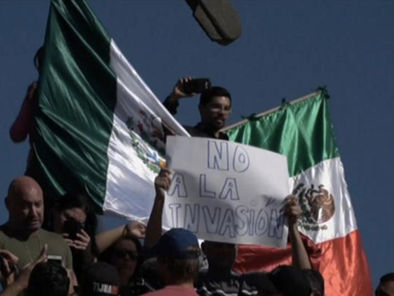 Central American Migrants Arrive in Tijuana, Mexico