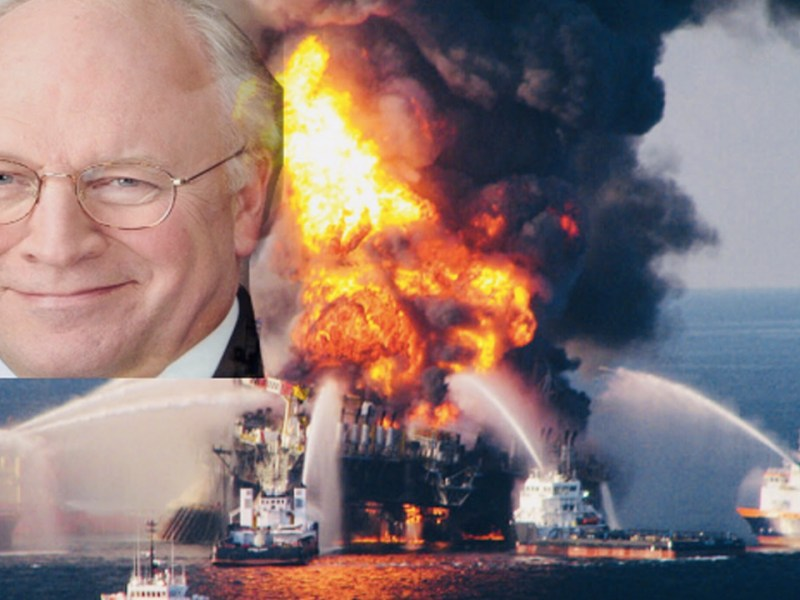 """Wilkerson on the Real """"Vice"""" - Cheney's BP Disaster (2/4)"""