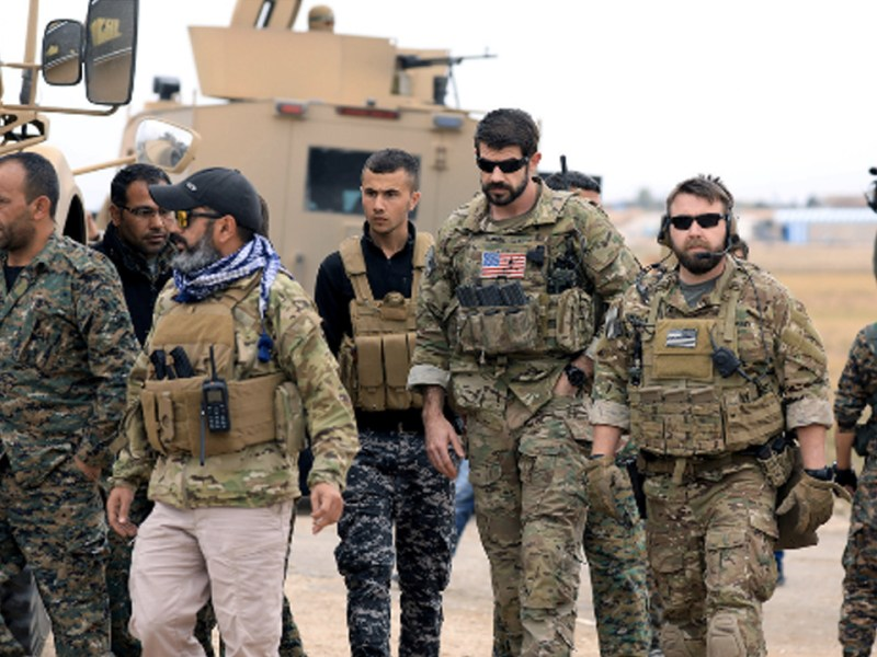 Trump Admin. Backtracks on Promise to Withdraw Troops from Syria (DH 1/7 7:50pm)