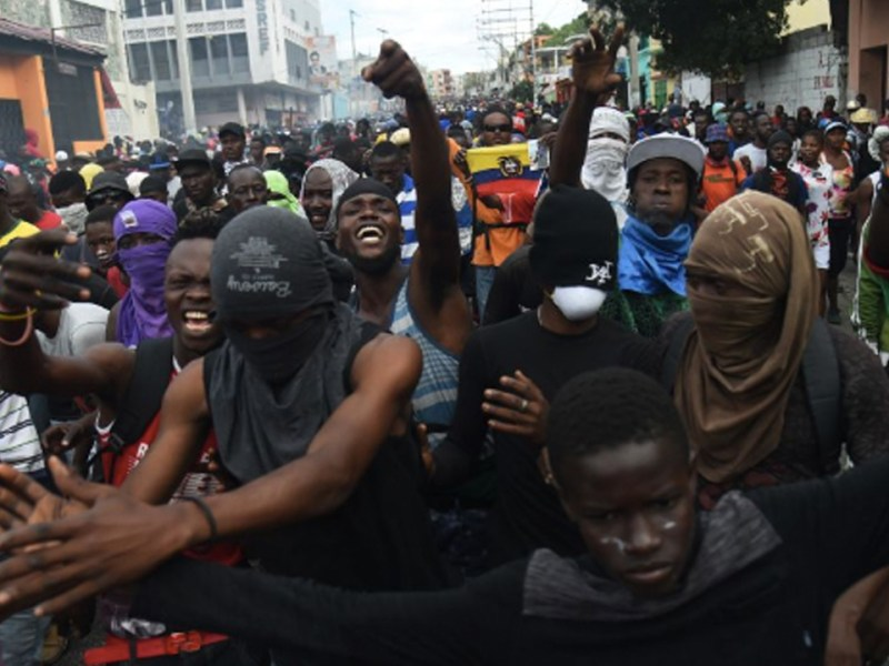 How Haiti's Spontaneous Uprising is Connected to Venezuelan Solidarity
