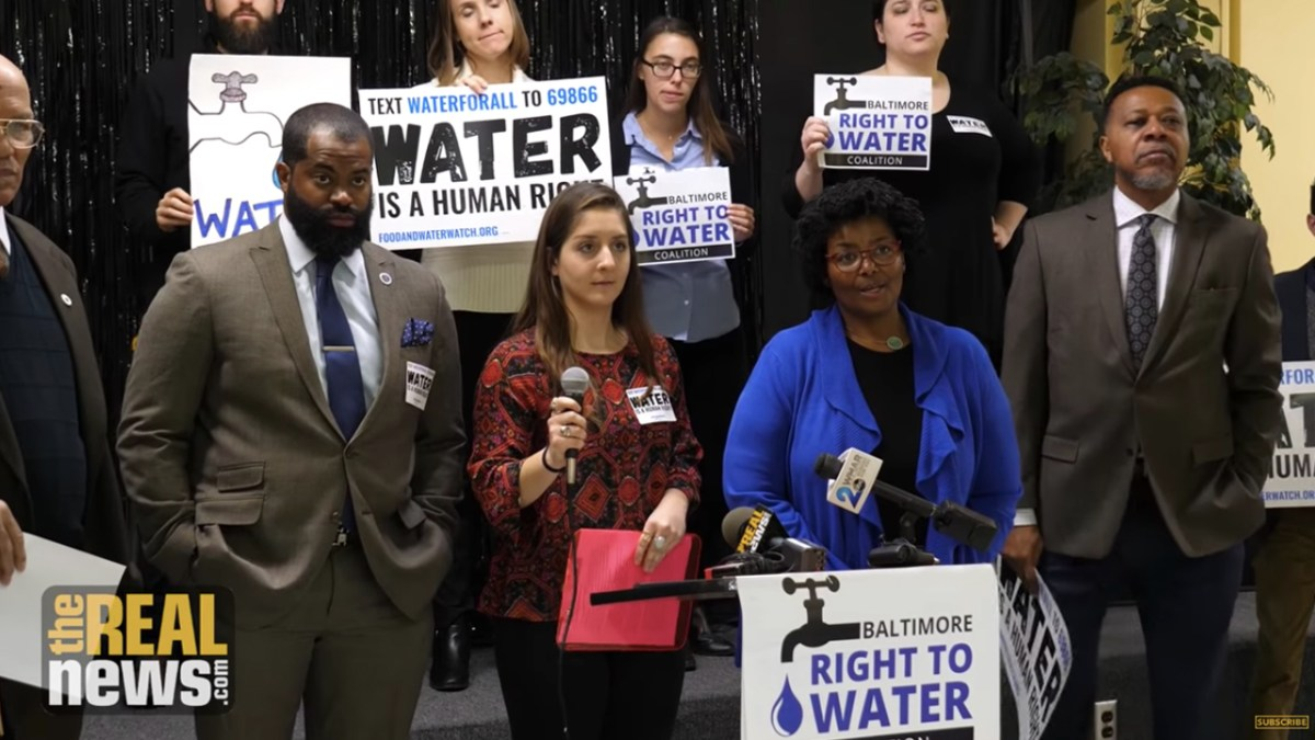 Amendments Limit Bill to Stop Baltimoreans from Losing Homes and Churches Over Unpaid Water Bills