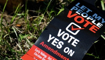 Florida Activists Fight Against Bill Preventing Former Felons from Voting