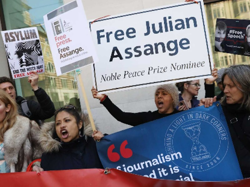 UN Torture Expert Says Assange Is Victim of Psychological Torture