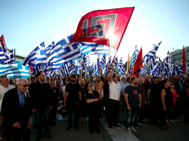 Greek Neo-Nazi Party Golden Dawn Rejected by Greek Voters (2/2)