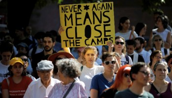 Jewish Activists of 'Never Again' Action Oppose Immigrant Detention Centers