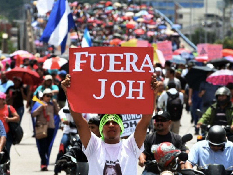 Protests In Honduras Intensify as President Is Implicated in Drug Trafficking