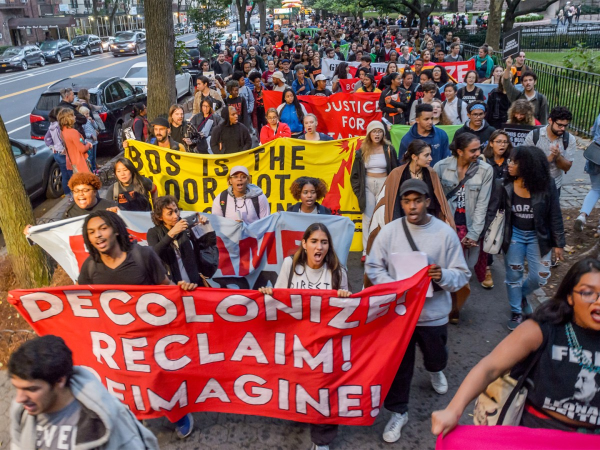 Activists from New York's Indigenous and Black communities