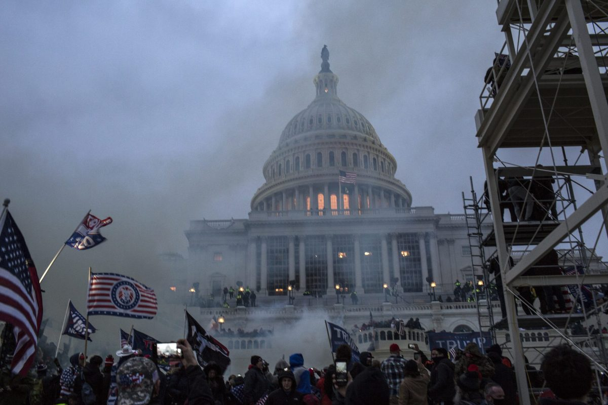 Donald Trump's supporters breach the US Capitol