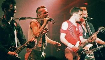 The Clash Perform At Brixton Academy In 1984