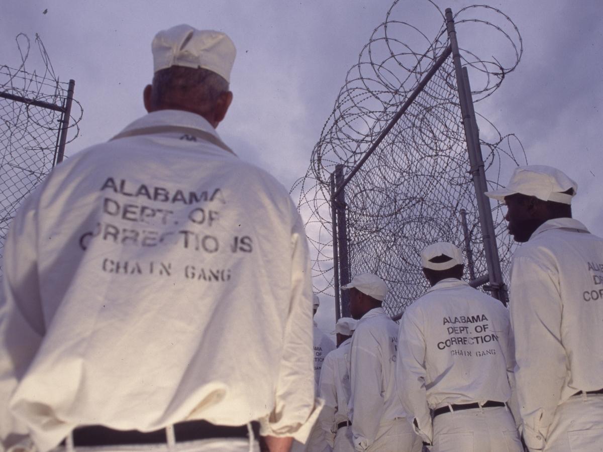 Incarcerated people in Alabama