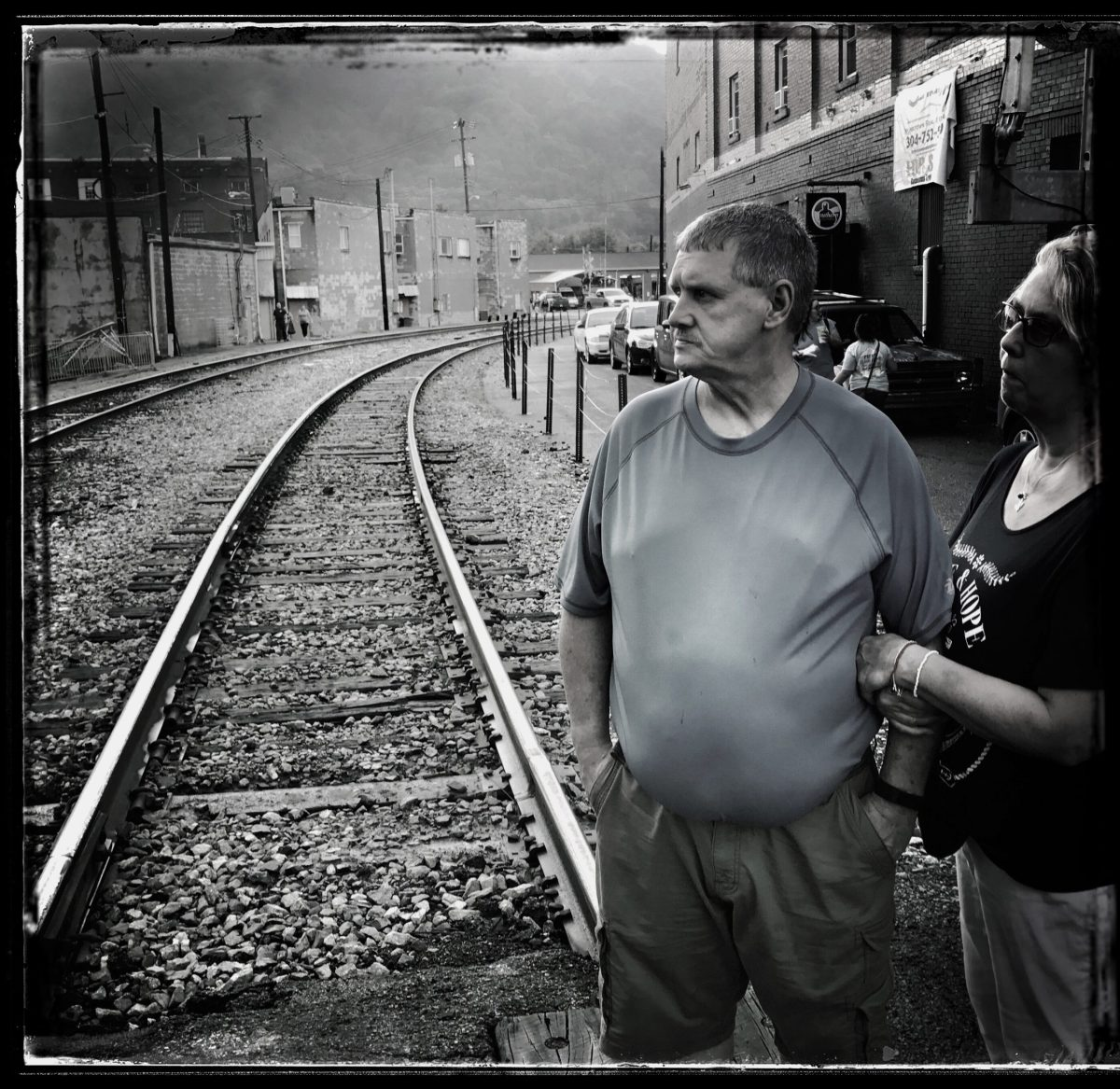 A retired union coal miner and his wife