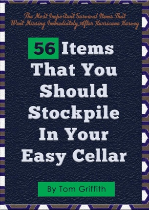 56 items that you should stockpile in your easy cellar